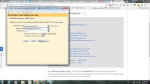 SMTP Server Option