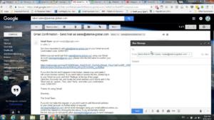 gmail sending